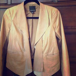Leather Trouve Blazer